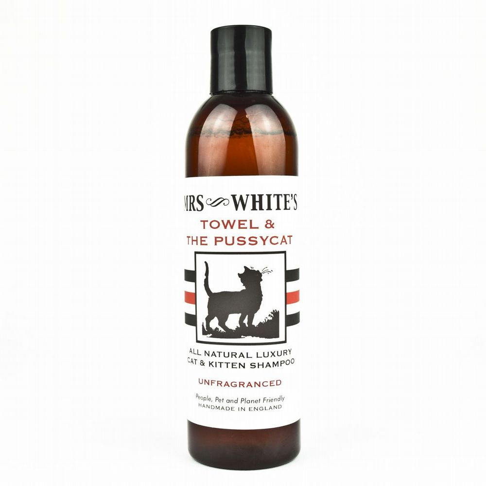 Mrs White's - Towel & the Pussy Cat (Cat Shampoo) 250ml